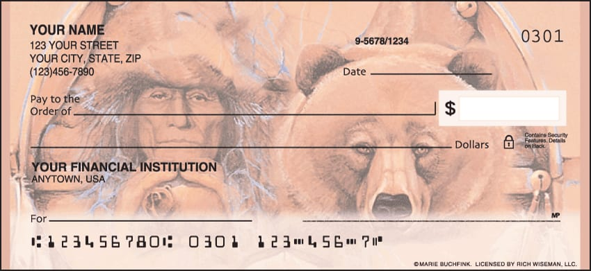 American Indians Checks - click to view larger image