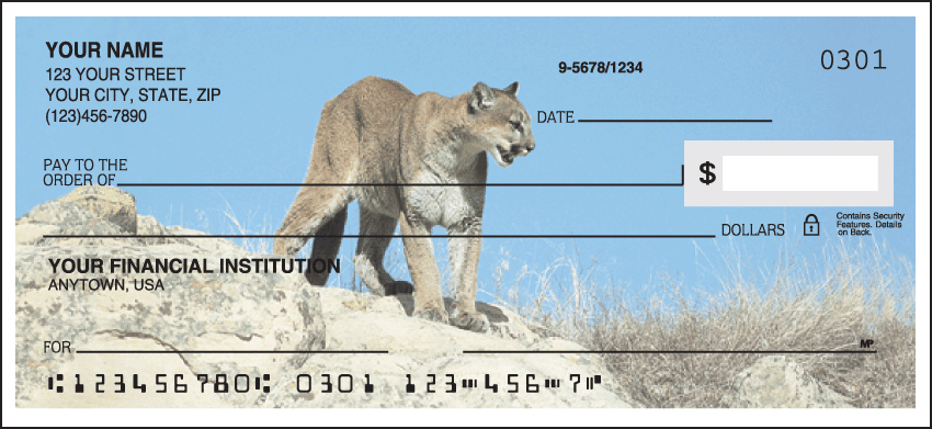 American Wildlife Checks - click to preview