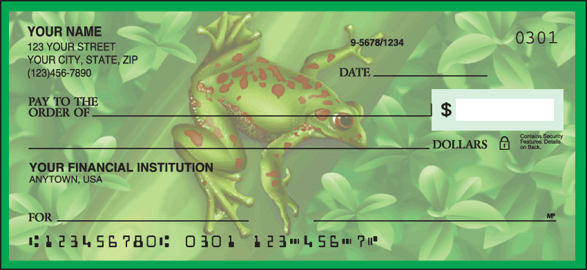 Enlarged view of Frogs Checks