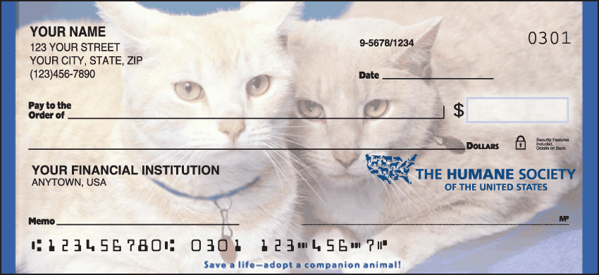 The Humane Society Checks - click to preview