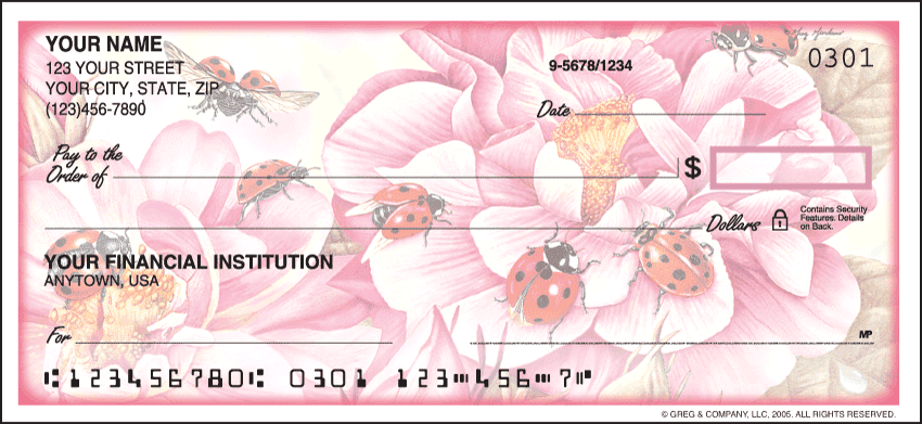 ladybugs checks - click to preview
