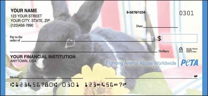 PETA Checks - click to view larger image