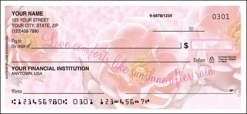 Petals from Heaven Checks - click to preview