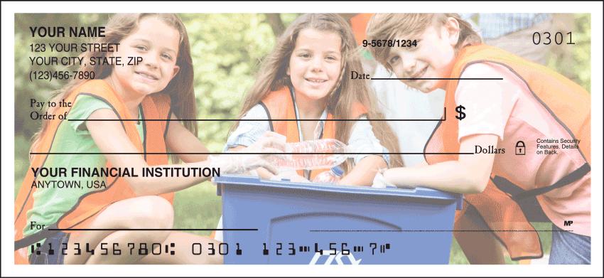 Custom Photo Checks - click to view larger image