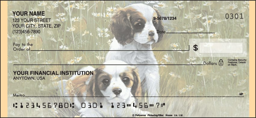 puppy tales checks - click to preview