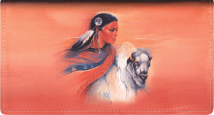 American Indians Leather Checkbook Cover – click to view product detail page