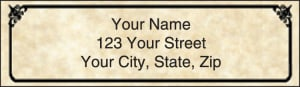 Antique Address Labels – click to view product detail page