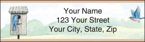 Backyard Birds Address Labels – click to view product detail page