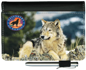Defenders of Wildlife - Wolves Debit Wallet – click to view product detail page
