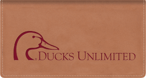 Ducks Unlimited Leather Checkbook Cover – click to view product detail page