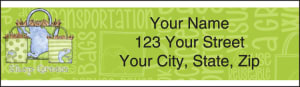 Green Living Address Labels – click to view product detail page