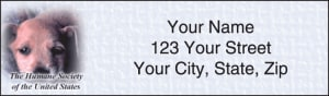 The Humane Society Address Labels – click to view product detail page