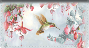Hummingbirds Fabric Checkbook Cover – click to view product detail page