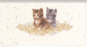 Kittens Fabric Checkbook Cover – click to view product detail page