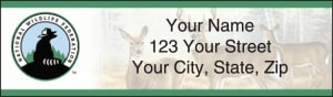 National Wildlife Federation Wildlife Address Labels – click to view product detail page