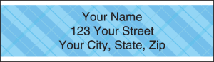 Plaid Address Labels – click to view product detail page