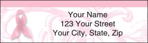 Ribbon of Hope Address Labels – click to view product detail page