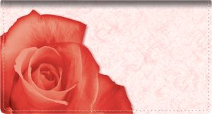 Roses Leather Checkbook Cover – click to view product detail page