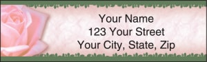 Enlarged view of Roses Address Labels