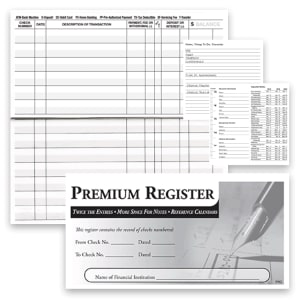 3-pack Premium Register – click to view product detail page