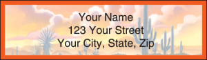 Western Country Address Labels – click to view product detail page