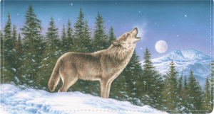 Wolves Checkbook Cover – click to view product detail page