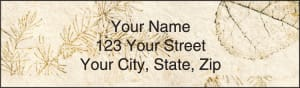 Woodlands Address Labels – click to view product detail page