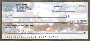 Enlarged view of ducks unlimited checks