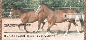 Enlarged view of Horses Checks