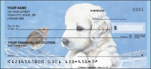 Enlarged view of Puppy Tales Checks
