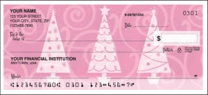 Enlarged view of Retro Christmas Checks