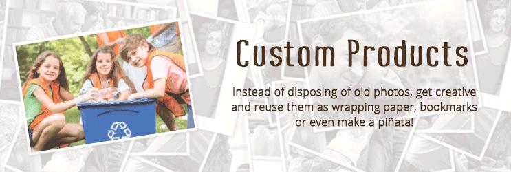 Custom Photo Products