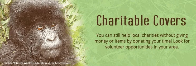 Charitable Checkbook Covers