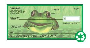 Recycled Checks
