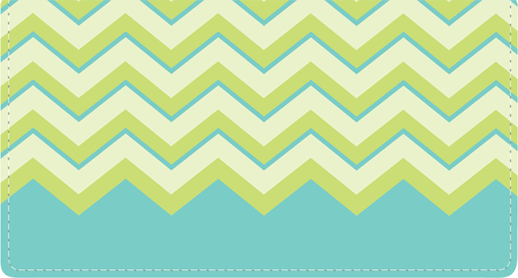 Chevron Checkbook Cover - click to view larger image