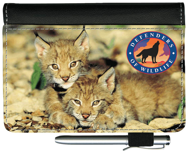Defenders of Wildlife - Big Cats Debit Wallet - click to view larger image
