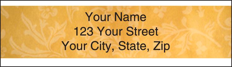 Fresco Address Labels - click to preview
