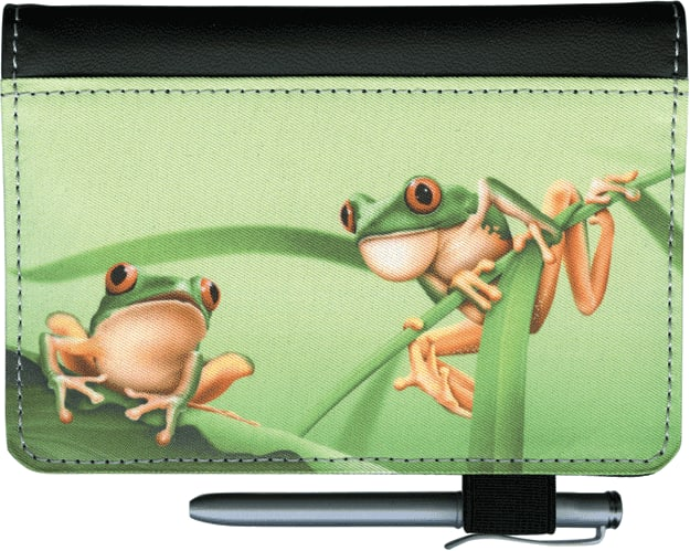 Frogs Debit Wallet - click to view larger image
