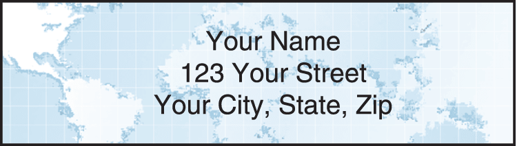 Globe Address Labels