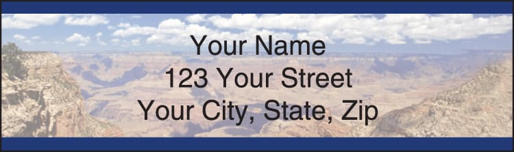 Grand Canyon Address Labels - click to preview