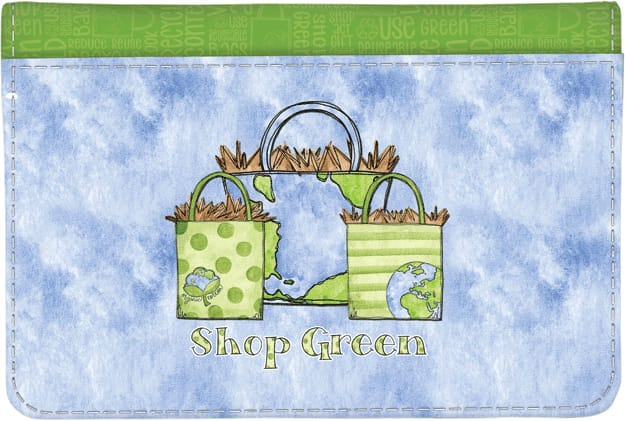 Green Living Debit Wallet - click to view larger image