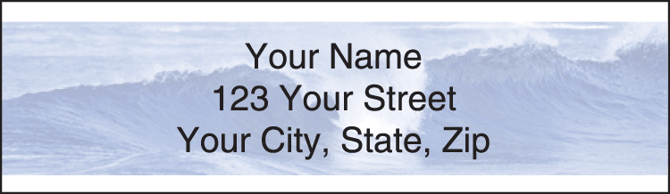 Island Paradise Address Labels - click to preview