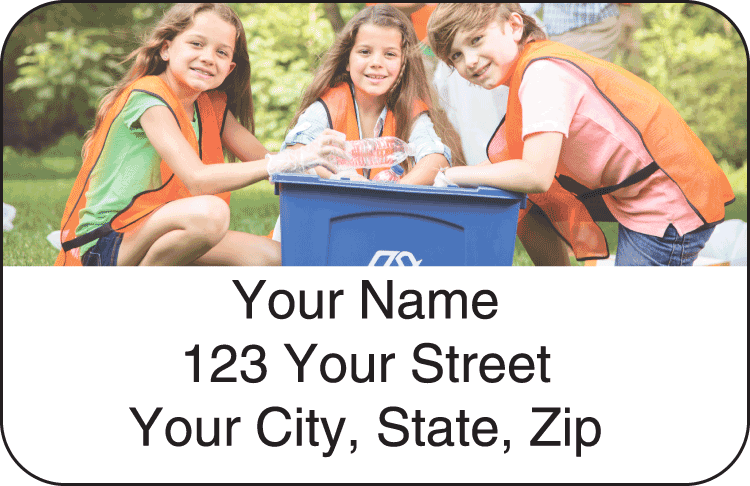 Photo Address Labels - click to view larger image