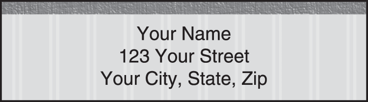 Pinstripe Address Labels - click to view larger image
