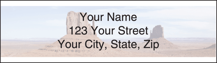 Scenic America Address Labels