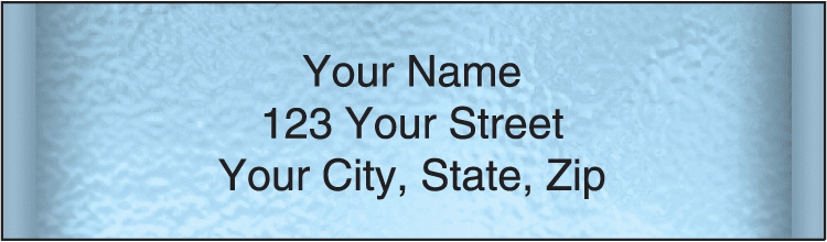 Securiguard Blue Address Labels