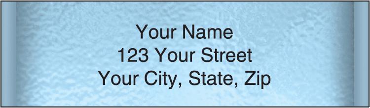 Securiguard Blue Address Labels