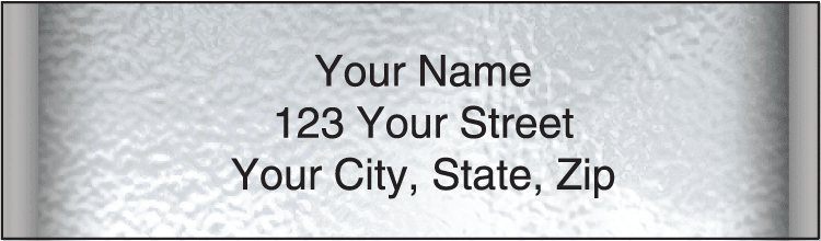 Securiguard Platinum Address Labels - click to view larger image