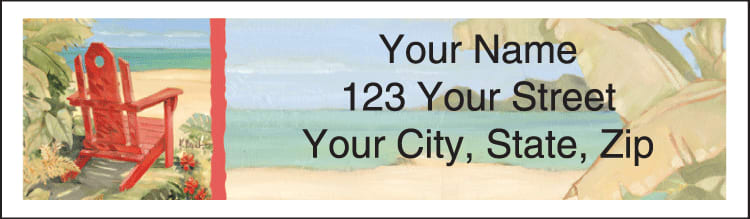 Shoreline View Address Labels