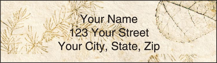 Woodlands Address Labels - click to view larger image